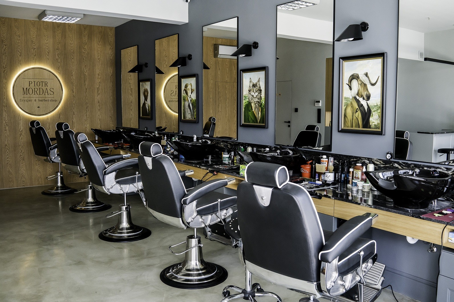 Barbershop Białystok Strzyżenie Brody Barber I Golibroda Piotr Mordas
