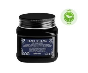 Davines HEART OF GLASS Odżywka wzmacniająca włosy blond 250 ml