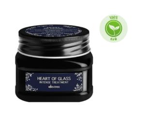 Davines HEART OF GLASS Kuracja odbudowująca do włosów blond 150 ml